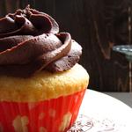 Cupcakes Rellenos de Fruta de la Pasión